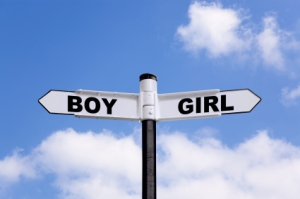 Boy Girl signpost